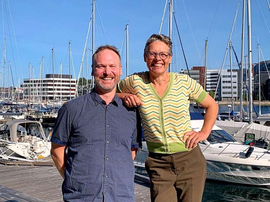 Ida og Øystein fra Flav AS